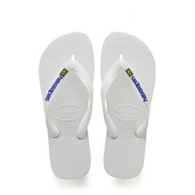 havaianas Brasil Logo Sandals Men white